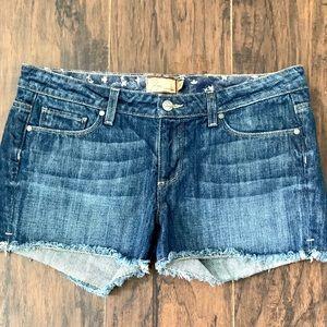 PAIGE Jean Shorts Size 31